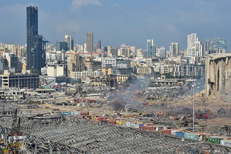 Día después tras la explosión en Beirut que ha dejado cien muertos