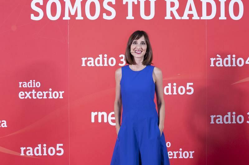 Julia Varela, presentadora del nuevo magacín 'Tarde lo que tarde'.