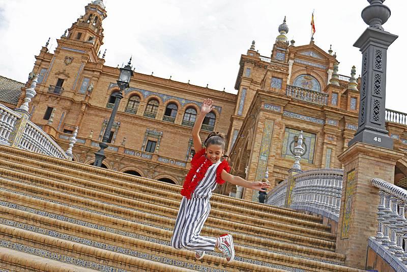 Soleá en Plaza de España de Sevilla