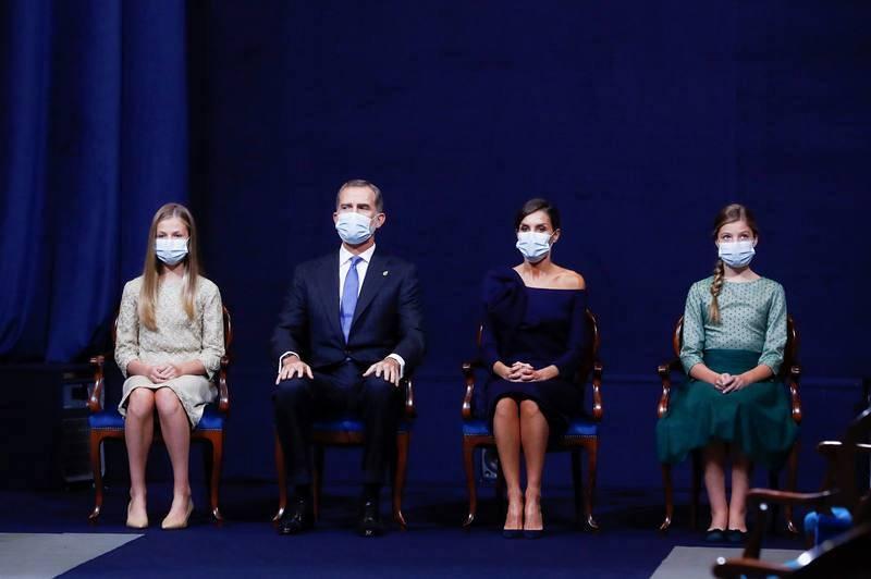 Ceremonia de los Premios Princesa de Asturias 2020