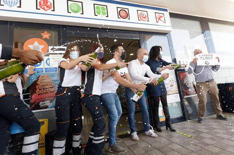 La Lotería vuelve a tocar en la gasolinera de Granadilla de Abona