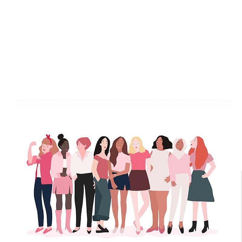 Promueve la diversidad física, funcional y de edad, y la representación de los diferentes colectivos de mujeres