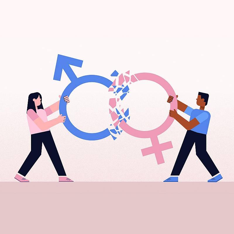 Rompe con los estereotipos sexistas de mujeres y hombres