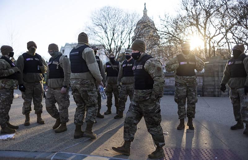 El Capitolio amanece entre fuertes medidas de seguridad