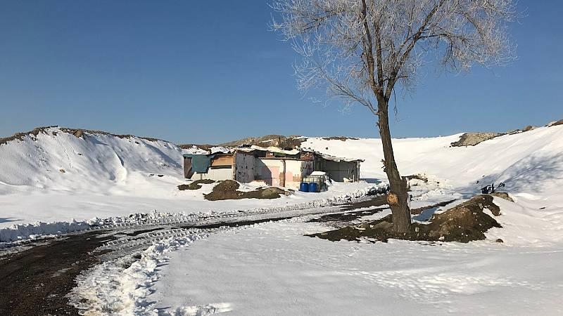Las últimas parcelas de la Cañada Real son las más aisladas del sector 6