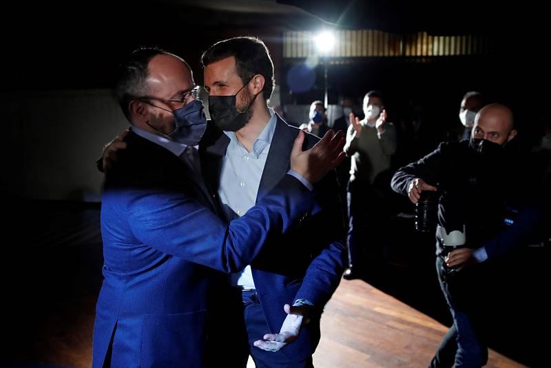 Casado y Fernández concluyen la campaña en Barcelona