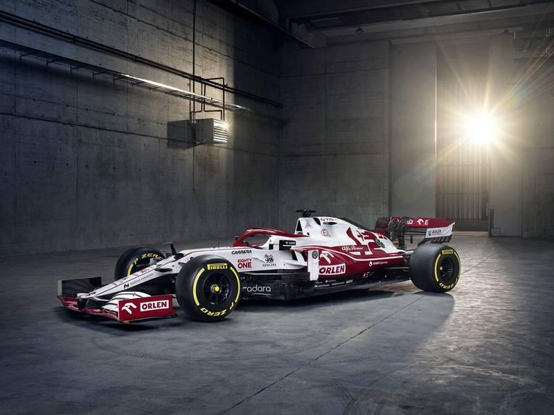 La alianza entre Sauber y Alfa Romeo continua en la temporada 2021 de F1 y este será su coche, el C41.