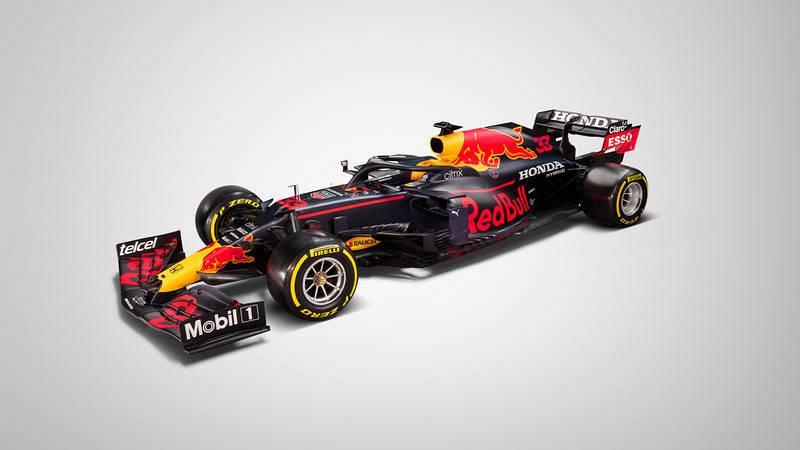 Así es el RB16B, el monoplaza de la escudería tetracampeona Red Bull, en busca de los laureles perdidos.