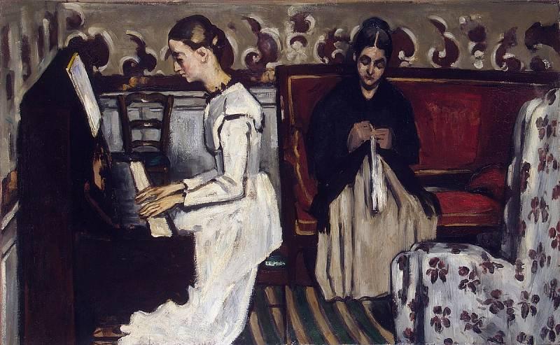 Longitud de onda - Muchacha al piano de Cézanne - 22/02/21 - escuchar ahora