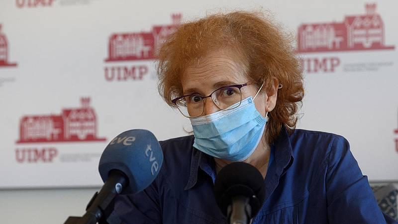 Margarita del Val, directora del Laboratorio de Inmunología Viral del Centro de Biología Molecular Severo Ochoa del CSIC