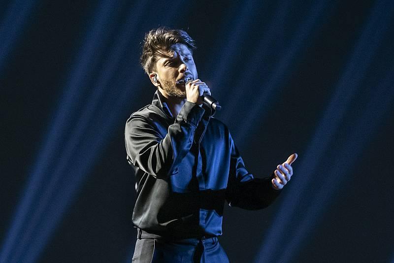 El primer ensayo de Blas Cantó en Eurovisión 2021