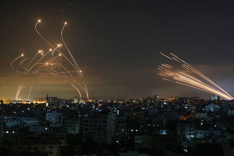 Misiles lanzados hacia Israel desde Beit Lahia