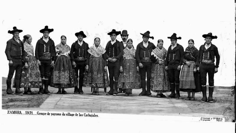 Grupo de Zamora en Madrid en 1878