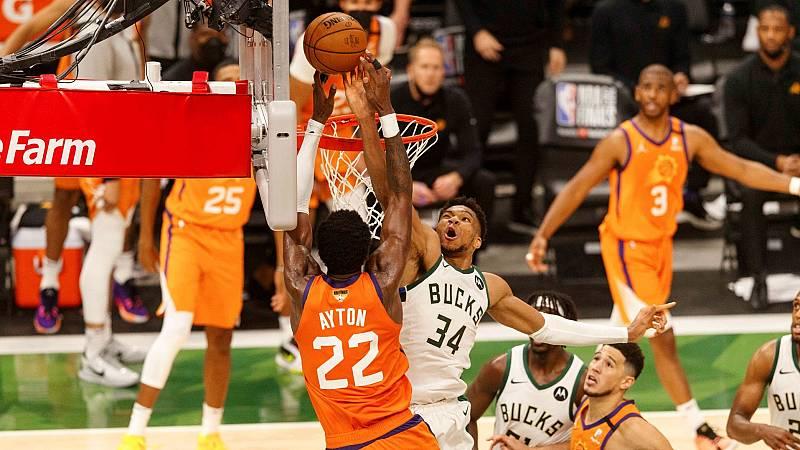 El tapón imposible que dio vida a los Bucks