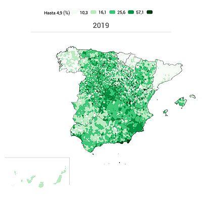 Mapa Region De Murcia Elecciones.Elecciones Generales 2019 El Mapa Electoral De Vox Su