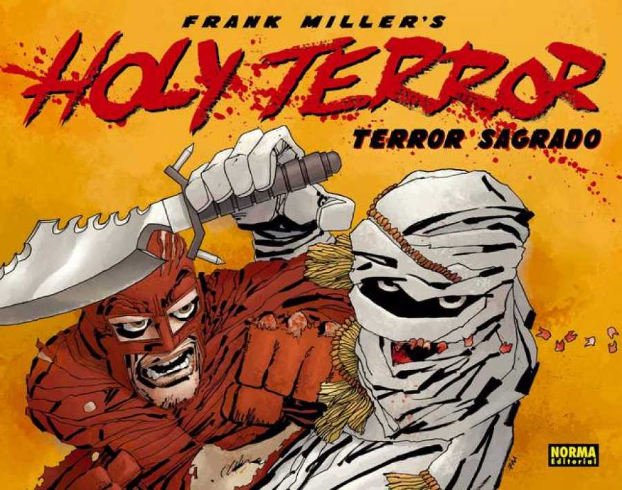 Portada de 'Holy terror' ('Terror sagrado'), de Frank Miller