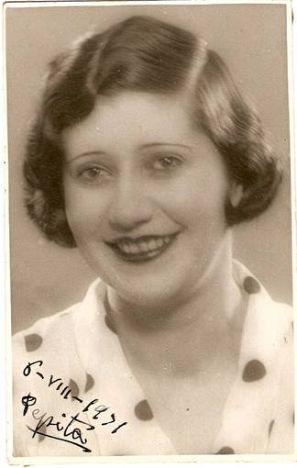 Josefina Carabias, 1931