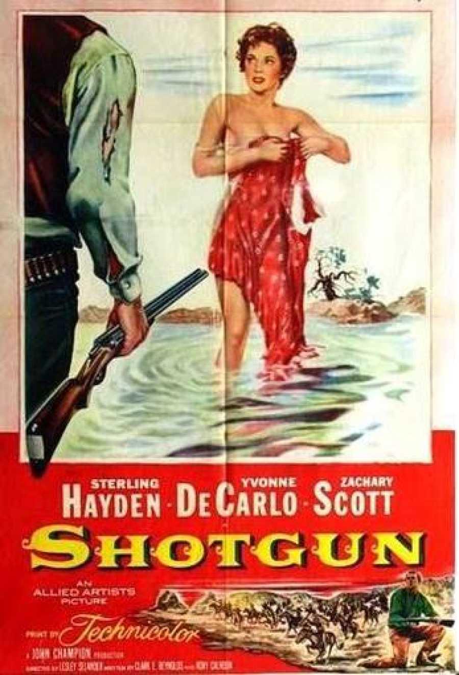 Cartel de la película 'La pradera sangrienta' original