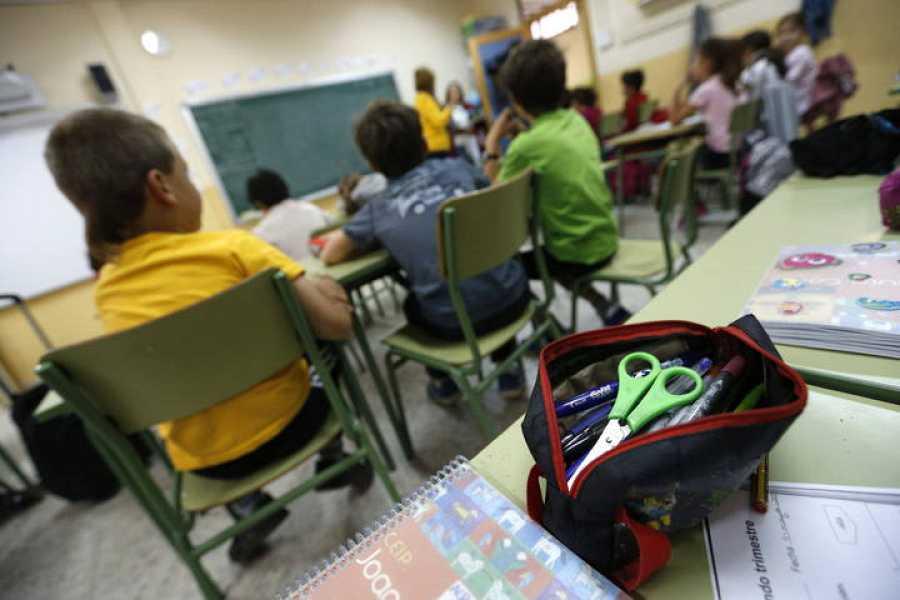 En total están llamados a la huelga unos 7 millones de alumnos y 600.000 maestros y profesores
