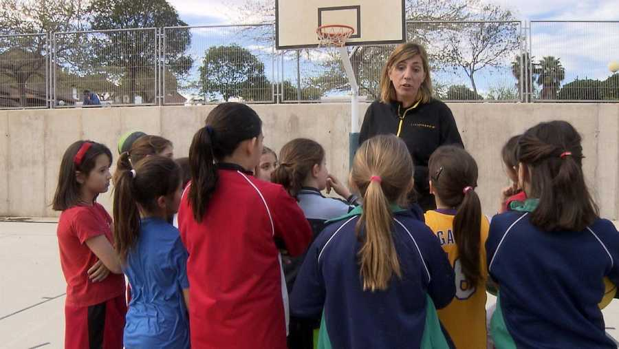 Marina Ferragut. Una de las jugadoras que más veces ha vestido la camiseta de la selección femenina de baloncesto.