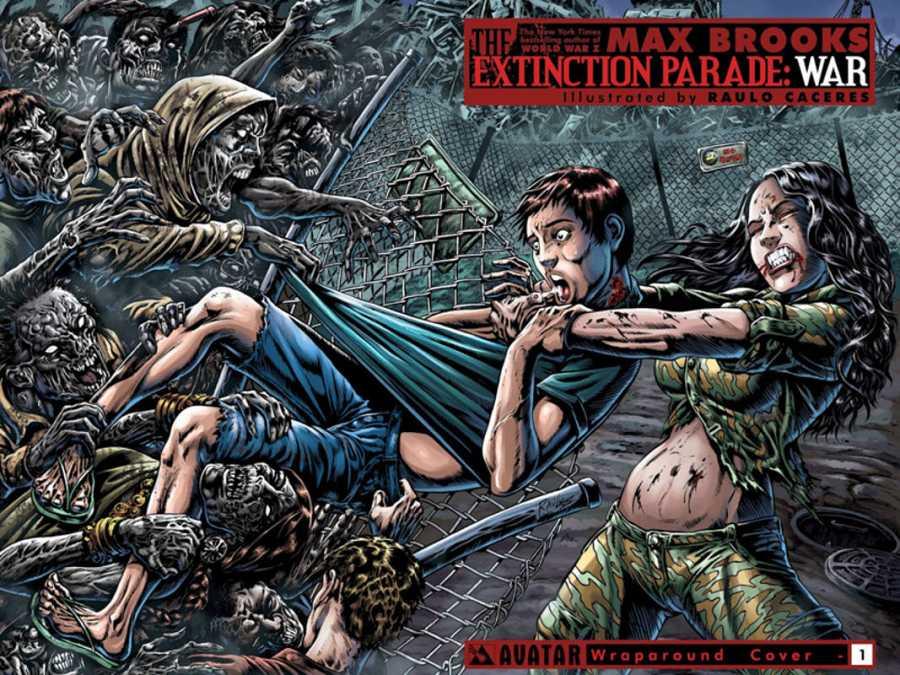 Portada del primer número de 'Extincion Parade: War'
