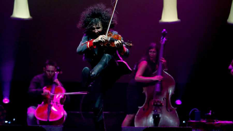 Ara Malikian en el primer concierto de los Veranos de la Villa
