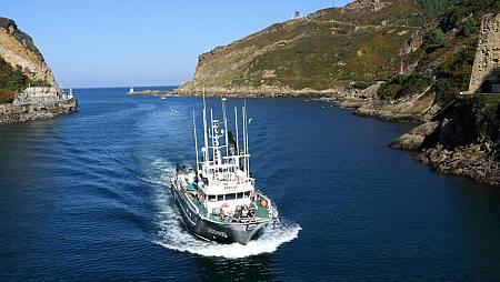 Llegada al Puerto de Pasajes