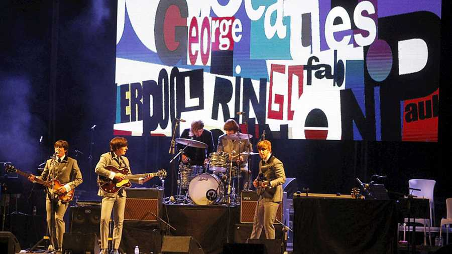 Homenaje a los Beatles en Las Ventas