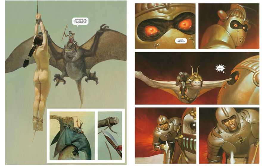 Páginas de 'El Mercenario'