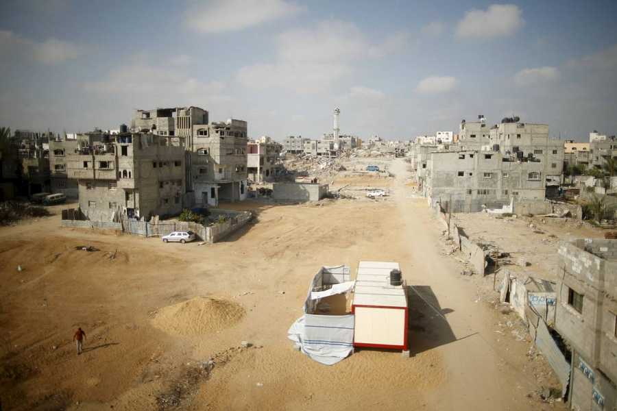 La ONU insta a acelerar la reconstrucción en Gaza en el primer aniversario del conflicto. REUTERS/Mohammed Salem