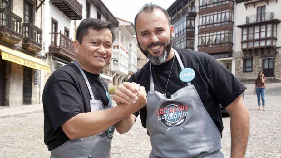 Ariel Supangan y Gonzalo Martín