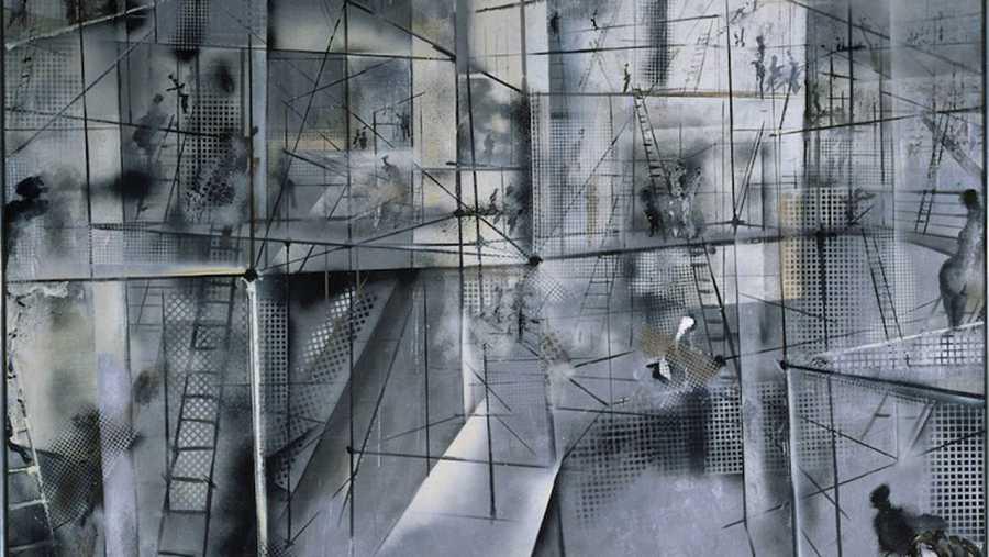 Imagen de la obra 'Ode à l'Odéon' de Constant Anton Nieuwenhuys