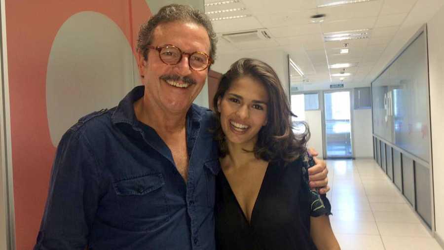 Pep Muné y Sara Sálamo, protagonistas de 'Lo que vio el mayordomo'