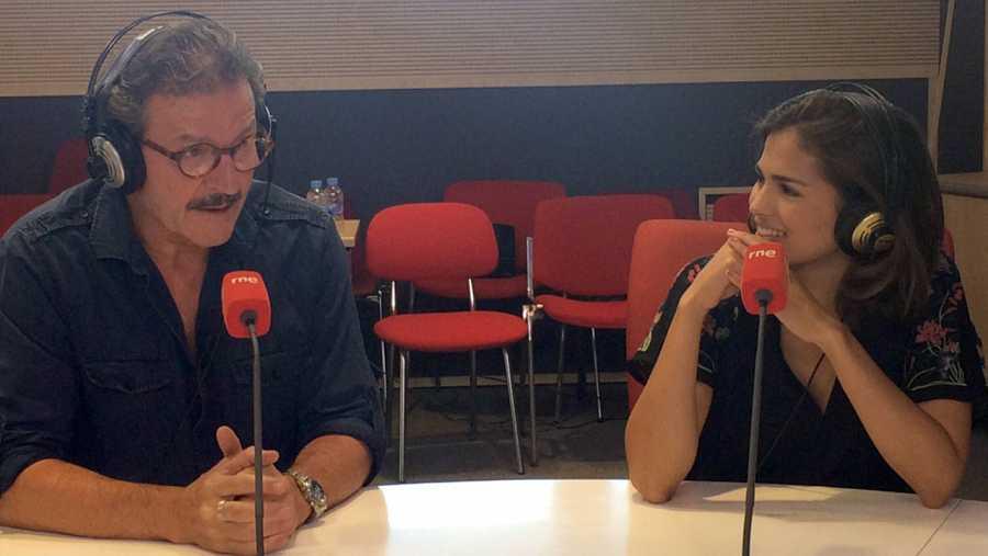 Pep Muné y Sara Sálamo