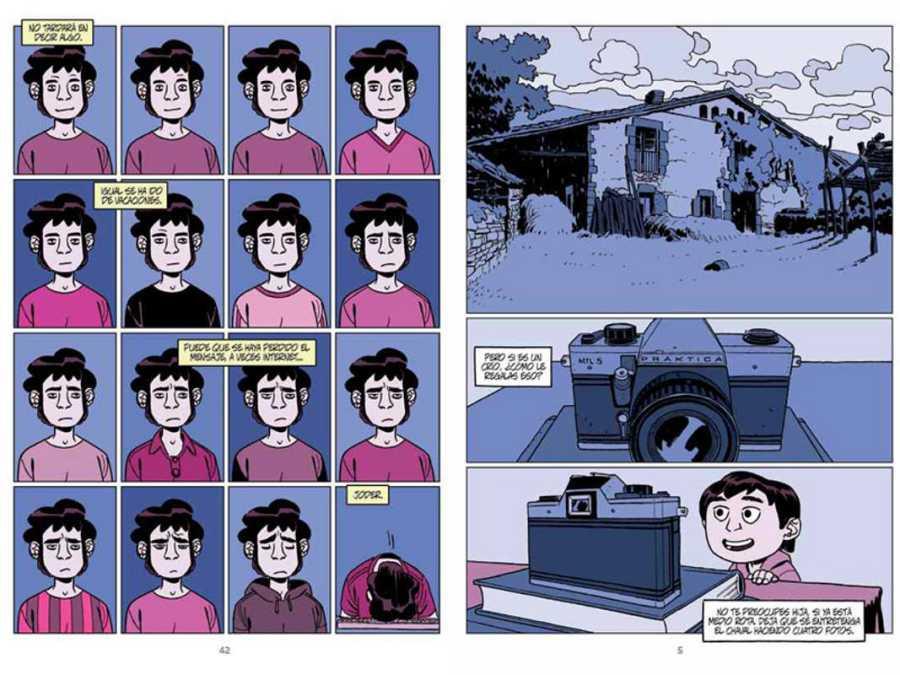 Páginas de 'En segundo plano'