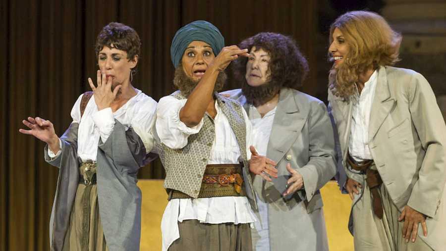 Una de las escenas de 'La asamblea de las mujeres'
