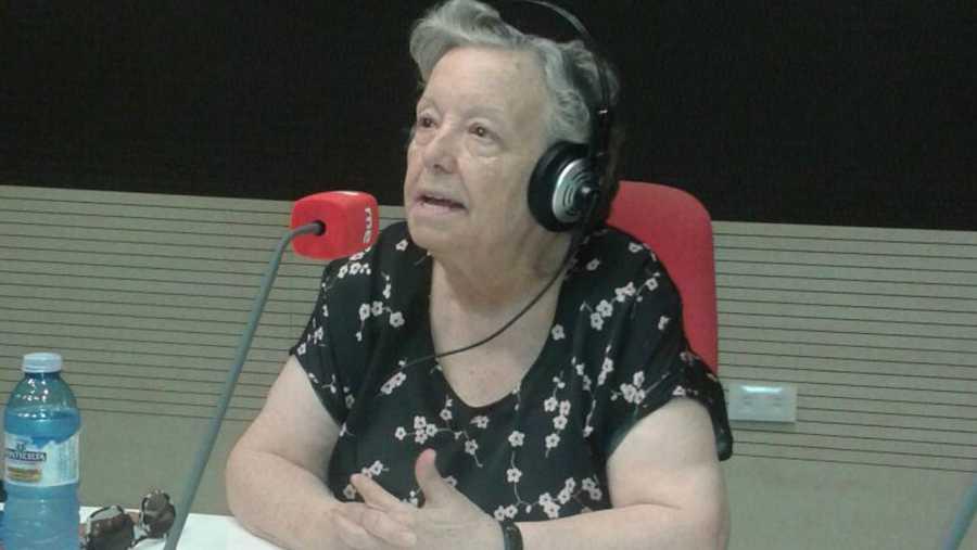 María Galiana, en RNE