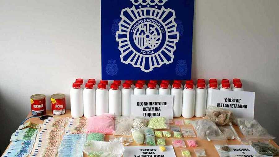 Los detenidos almacenaban la droga en un trastero alquilado en Barcelona