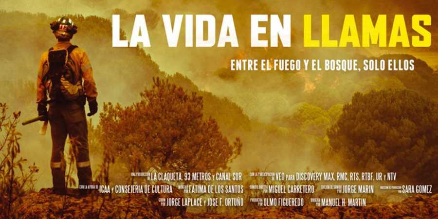 Cartel de 'La vida en llamas'