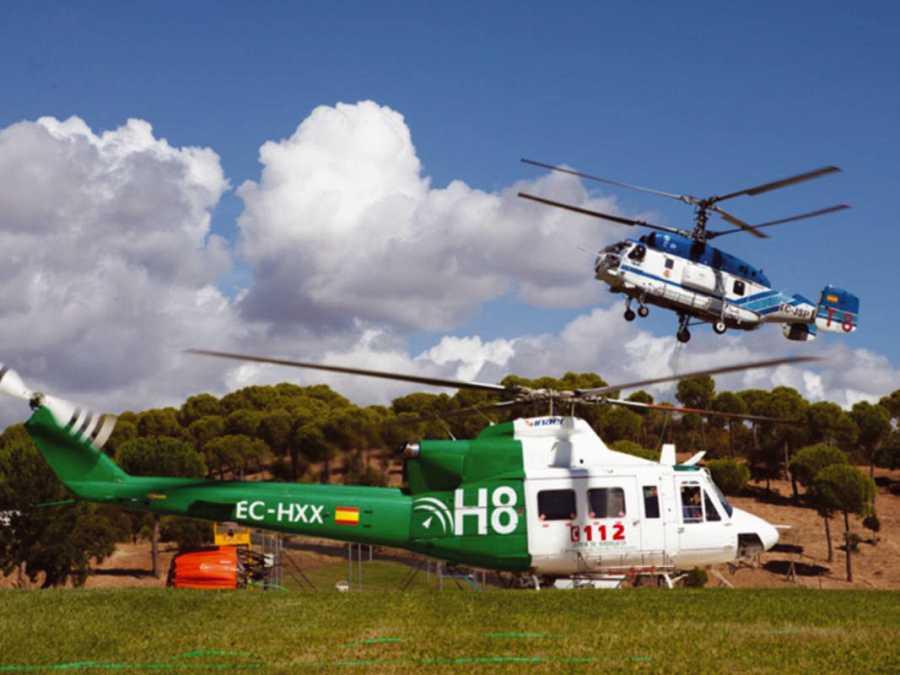 Helicópteros de la BRICA