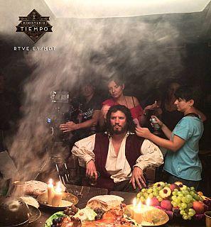 Sergio Peris-Mencheta como el Cid en 'El Ministerio del Tiempo'