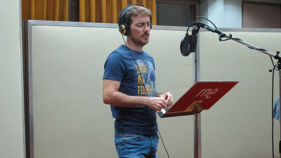 Víctor Clavijo es Francisco de Borja en la ficción sonora 'Carlos de Gante'