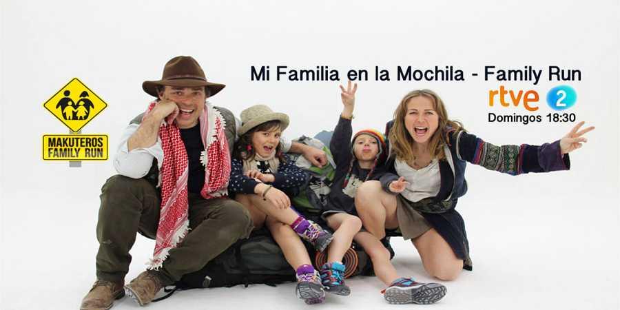 'Mi familia en la mochila-  Family Run'