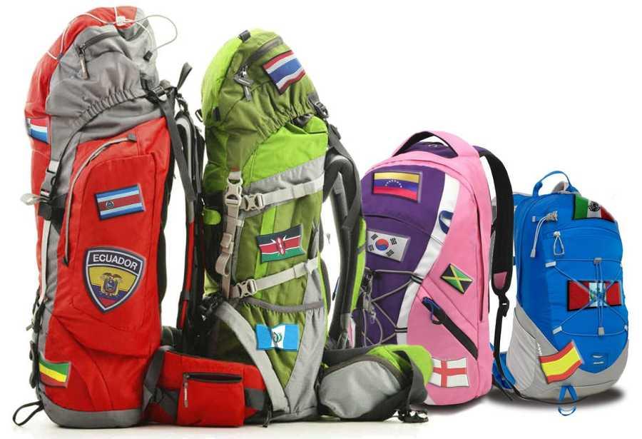 El equipaje de 'Mi familia en la mochila-  Family Run'