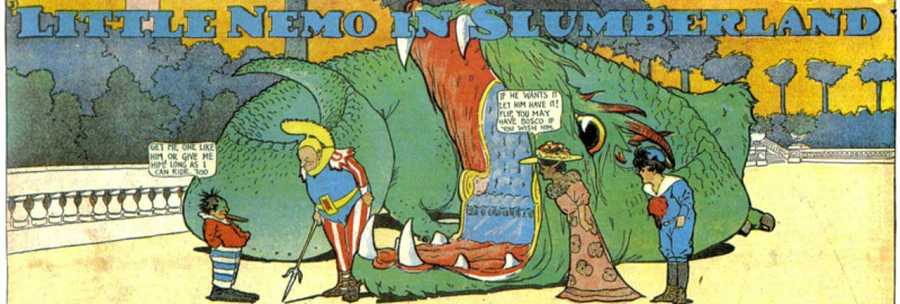 Viñeta de 'Little Nemo in Slumberland'