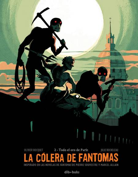 Portada de 'La cólera de Fantomas 2: Todo el oro de París'