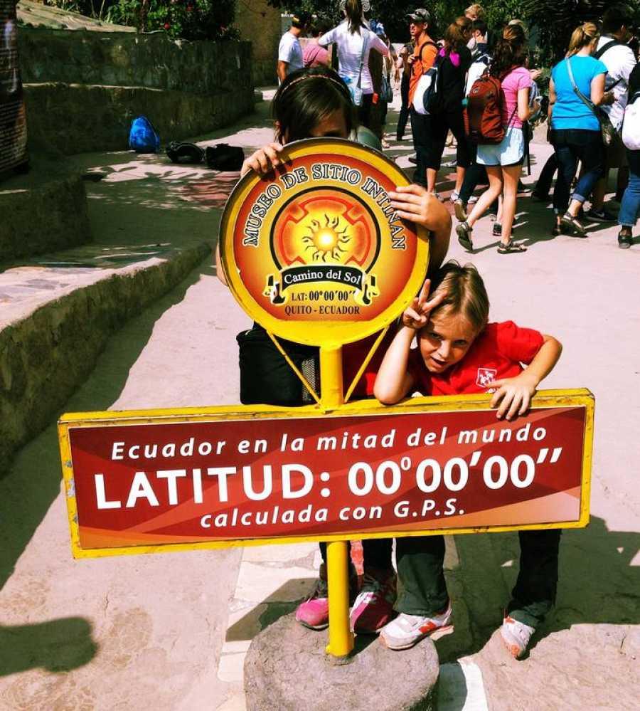 En la línea del Ecuador