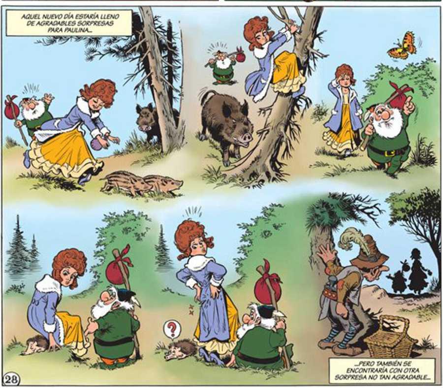Viñetas de 'Bermudillo'