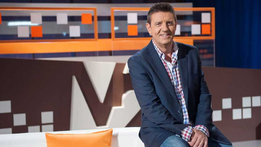 Xavi Díaz, presentador de Vespre a La 2