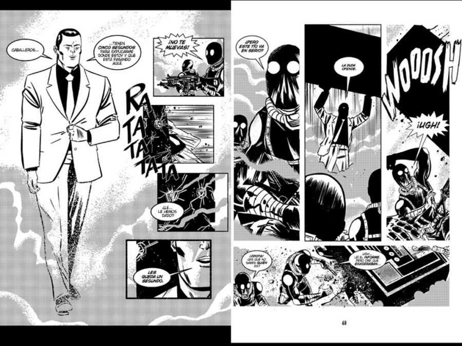 Páginas de '¡García!'